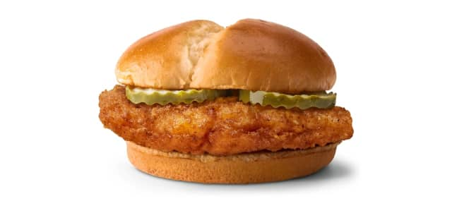 McDonald's is jumping in the chicken sandwich wars with a new crispy fried chicken sandwich.