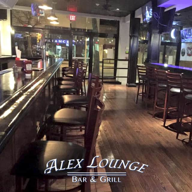Alex Lounge Bar & Grill is a local favorite for drinks in White Plains.