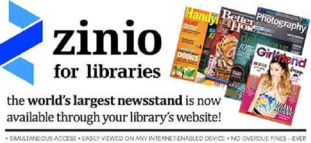 The LaGrange Library in Poughkeepsie now offers the Zinio Digital Magazines e-service.