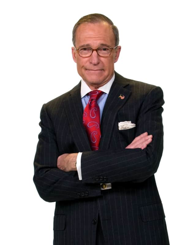 Larry Kudlow is the first author talk for Wilton Library's business initiative on Thursday, January 26, from 7 to 8:30 p.m.