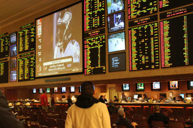 Sports betting may become legalized in the tri-state area.