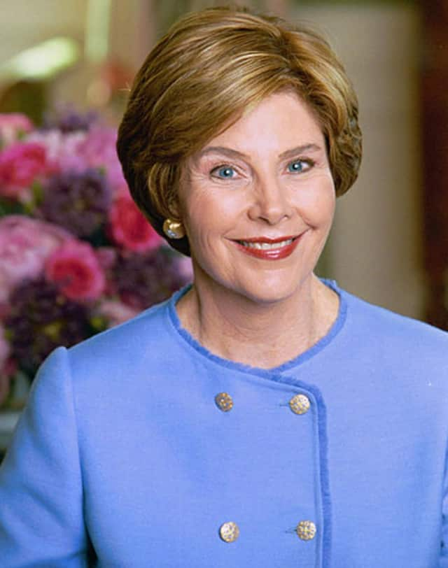 Former first lady Laura Bush will be appearing at the Wyckoff YMCA