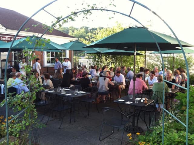 "Le Jardin du Roi (pictured) is one of the participating restaurants in the Chappaqua-Millwood Chamber of Commerce's special ""Dine & Date"" monthly event."