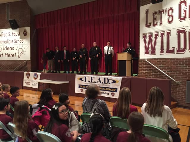 Over eight weeks, fifth-graders learned about handling some of the challenges of adolescence, with help from local law enforcement.