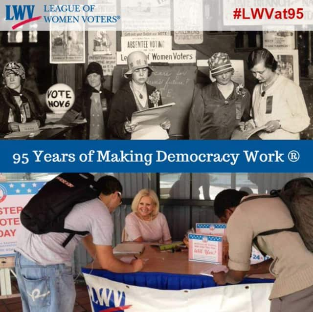 The League of Women Voters has been at work for nearly a century.
