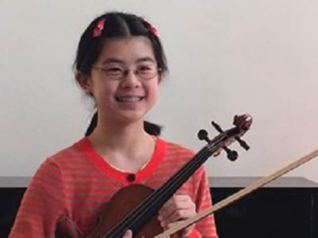 Leona Liu, a seventh-grader at Chappaqua's Robert E. Bell Middle School, was recently named a student honors composer in a statewide contest.