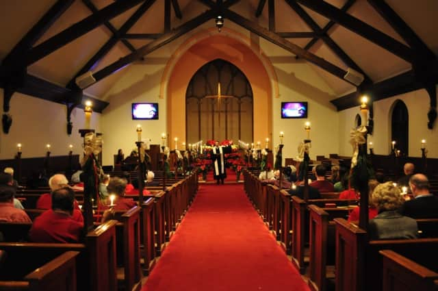 Leonia United Methodist Church's Christmas Eve service will begin at 8 p.m.
