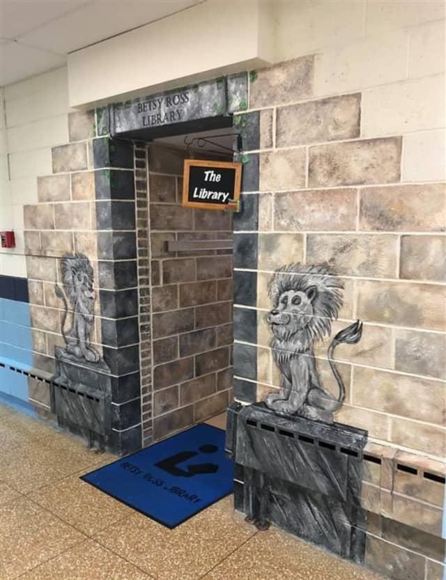 Betsy Ross School library