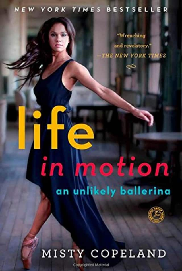 The non-fiction book that revolves around the life of Copeland, the only African-American soloist dancing with the American Ballet Theatre.