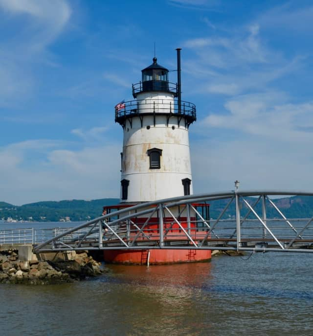 The 1883 Lighthouse at Sleepy Hollow.
