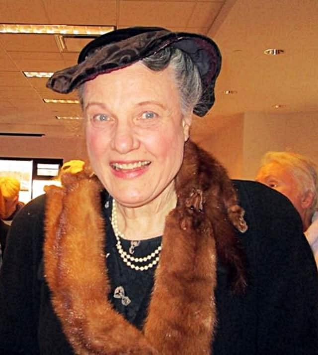 Linda Kenyon, as Eleanor Roosevelt, will bring a taste of history next Monday.
