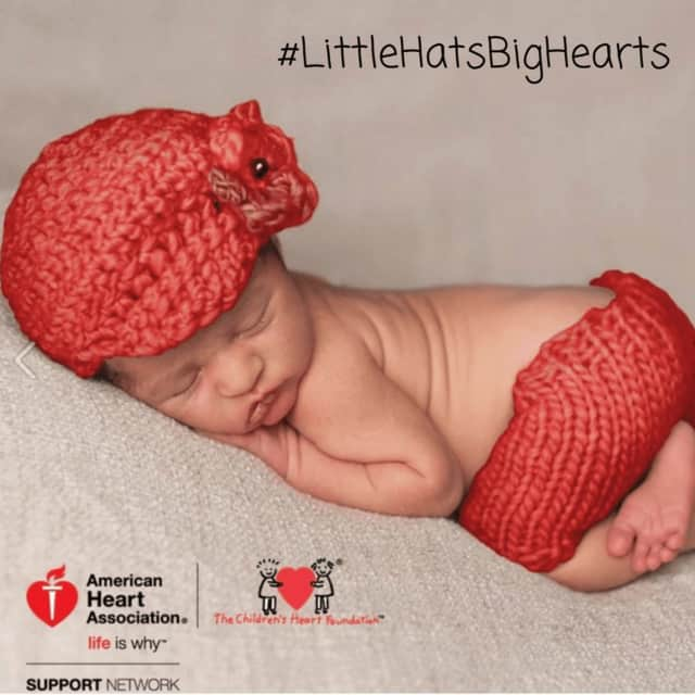 "The American Heart Association, along with 26 hospitals in New York's Hudson Valley and in western Connecticut, are joining the ""Little Hats Big Hearts"" drive to raise awareness of congenital heart defects."