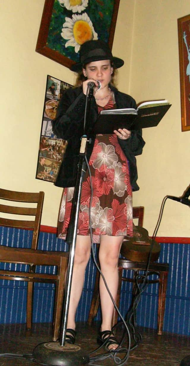 Poets can recite original or published works at Fair Lawn library's open mic event.