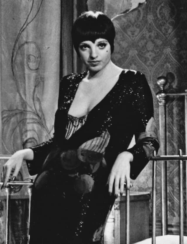 "Liza Minnelli in the 1972 film ""Cabaret"""