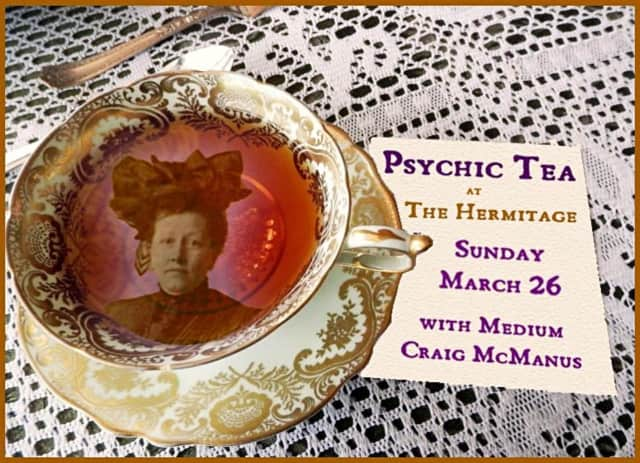 Local medium Craig McManus will be showcasing his channeling abilities at this the event at the historic Hermitage.