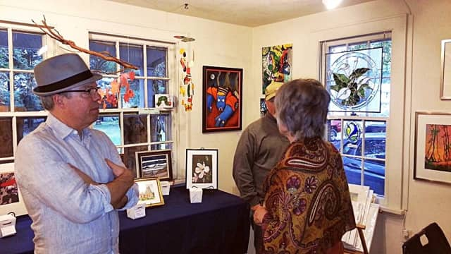 Locals perused an ACHP exhibit last fall.