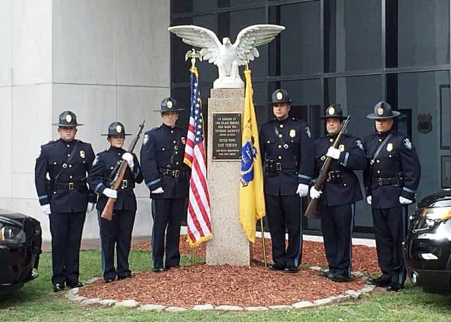 Lodi's fallen officers memorial