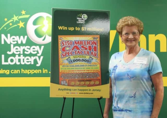 Patricia Esposito of Garfield won $1 million this month by playing the New Jersey Lottery
