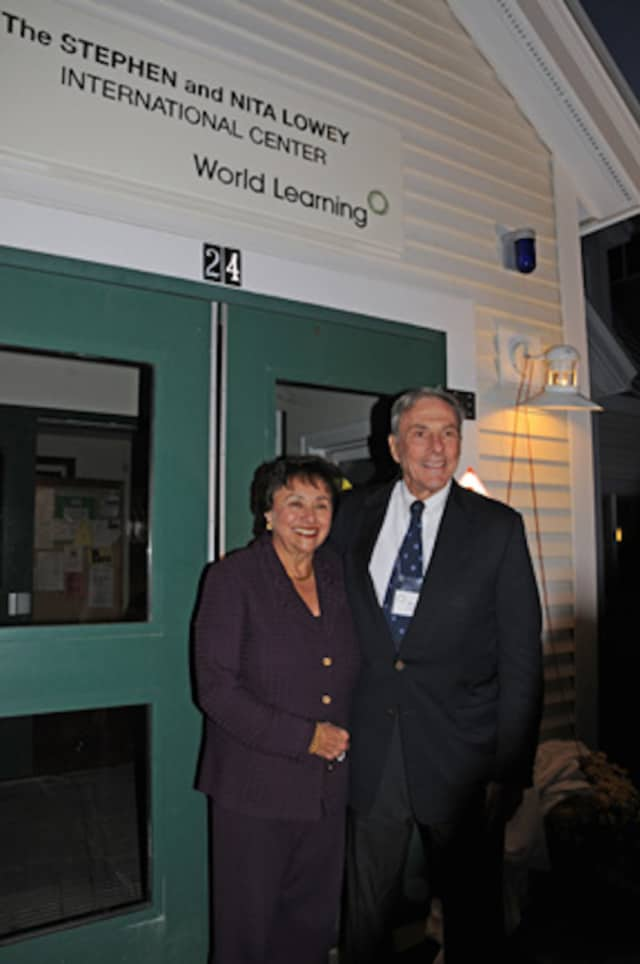 Stephen and Nita Lowey gave a $500,000 gift to the School for International Training's graduate institute programs.