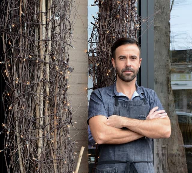 Chef Luke Venner, above, with Tyler Anderson, will host a reunion pop-up at Elm Restaurant on Wednesday, April 20. Reservations are from 5:30-9 p.m.
