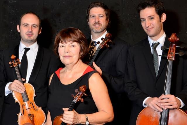 The Lumina String Quartet will perform March 12 at Norwalk Community College.