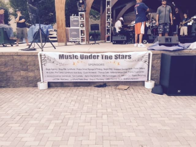 Music Under the Stars hosted by the Lyndhurst Department of Parks and Recreation