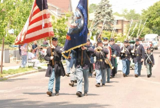 The annual Memorial Day parade in Lyndhurst.