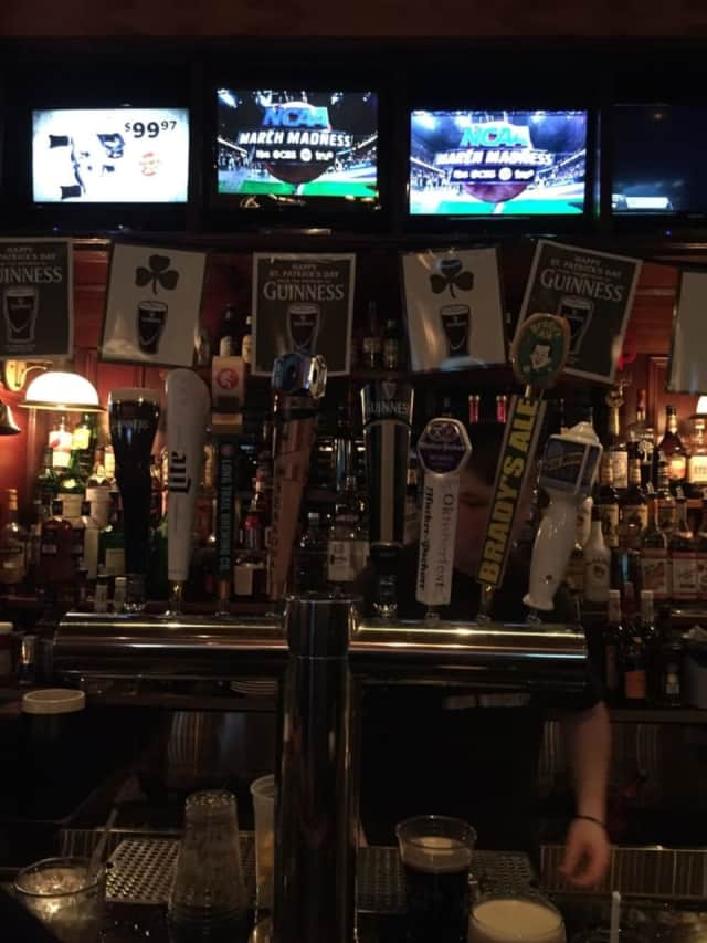 Bradys At The Station is a local favorite for drinks in Ramsey.