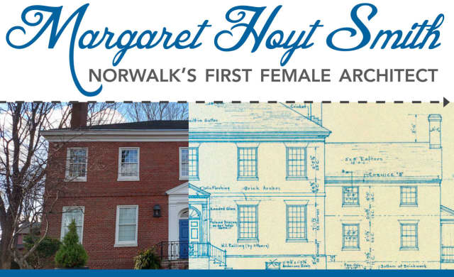 The Norwalk Historical Society will host a holiday open house and the opening of a new exhibition on the city's first female architect this weekend