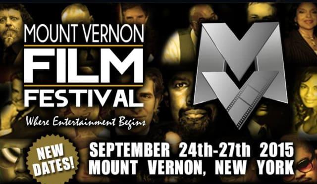 The Mount Vernon Film Festival will be held Sept. 24-27.