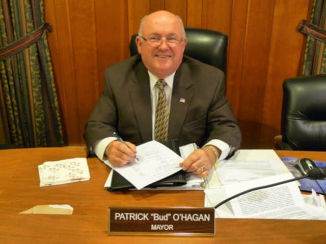 "Midland Park Mayor Patrick ""Bud"" O'Hagan is waging a write-in campaign."
