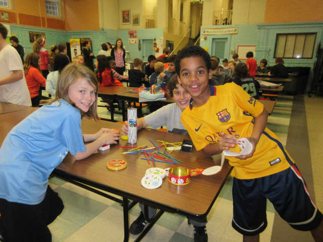 Main Street School students participated in Global School Play Day on Feb. 3.