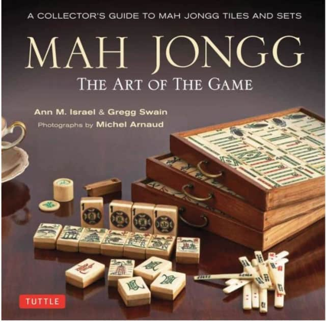 "Author Gregg Swain will discuss her book, ""Mah Jongg: The Art of the Game"" May 2 at the Darien Community Association."