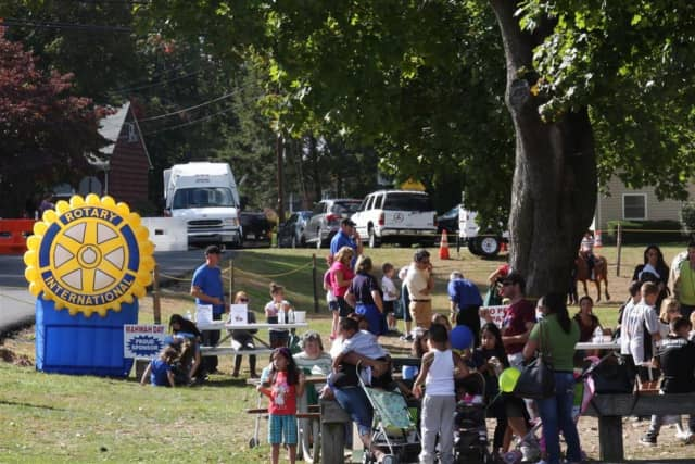 A scene from Mahwah Day 2013.
