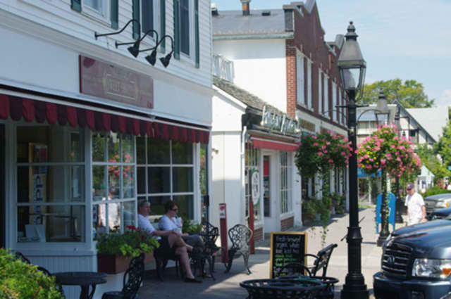 Main Street in Ridgefield can boast about being in the middle of the safest town in the state.