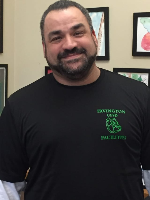 Main Street School custodian Angel Aviles has been named a finalist in a nationwide Custodian of the Year contest.