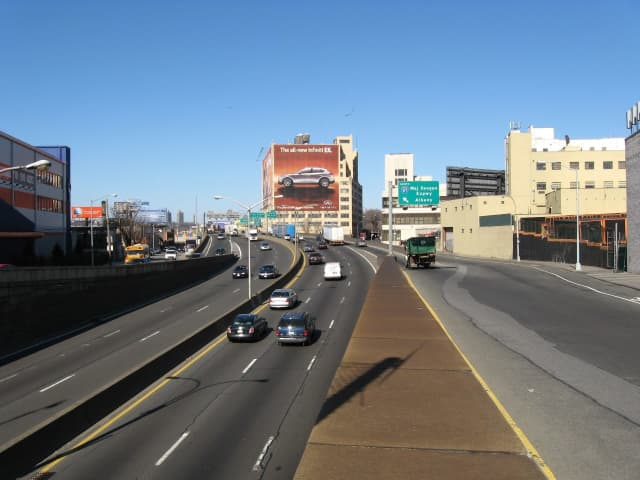 The Major Deegan Expressway.