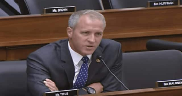 """U.S. Rep. Sean Patrick Maloney, D-NY (18th District), addresses the U.S. Coast Guard officials in September over planned barge anchorages in the Hudson River. """"This is a bad idea. We don't want it,"""" the congressman told them."""