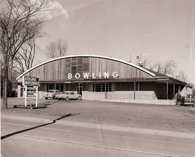 Clarkstown Police shared a photo of the Mapleways Bowling Alley for this week's #TBT trivia question.