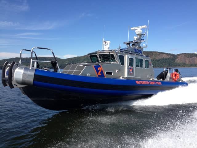 Westchester County Police Marine 2 patrol boat.