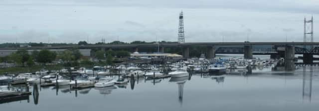 A Norwalk man was found guilty of stealing a motorcycle that was on display at the Boardwalk Marina in Stratford.