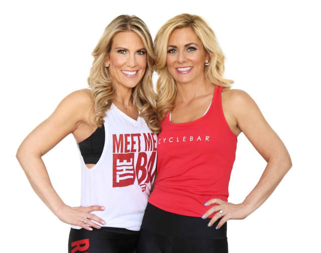 Fort Lee Cyclebar Owners Marisa Kochnover and Abbey Braverman