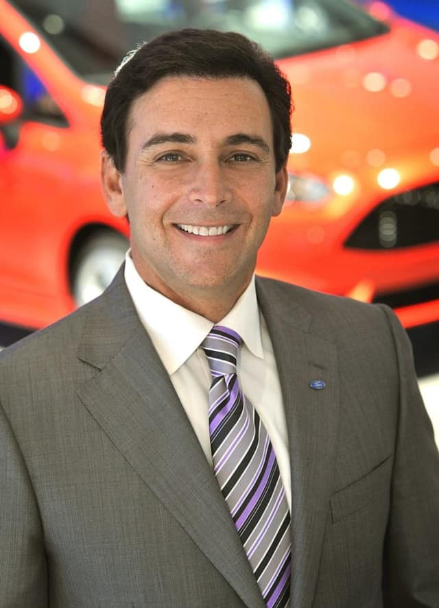 Mark Fields of Paramus and former Ford Motors CEO.