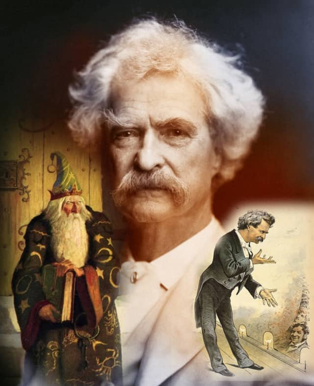 Mark Twain will be honored at the Norwalk Stamp Show on March 12.