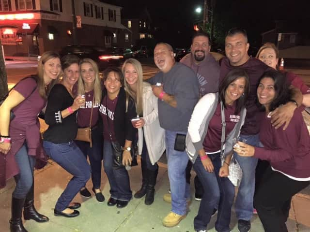 The Harrison Chamber of Commerce hosted a Maroon & White Crawl Night recently.