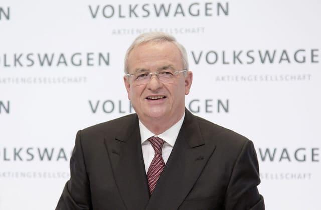 Volkswagen CEO Martin Winterkorn.