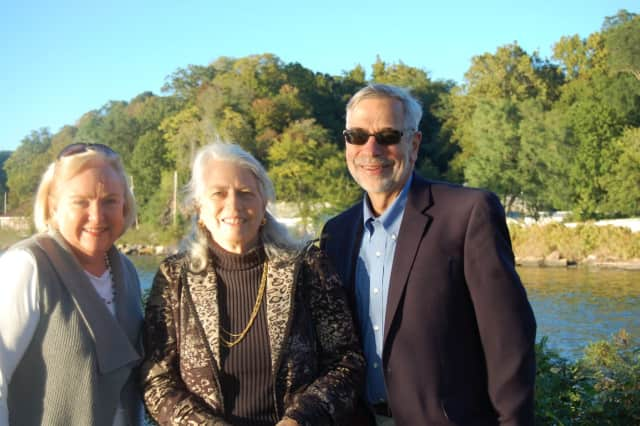 Mary Anne Dempsey, Finance Manager St. Augustine's Church, Ken Dempsey, Treasurer & CFO Catholic Charities of the Archdiocese of New York and Marti Stewart, Treasurer Ossining Food Pantry at the 28th annual Food Pantry Celebration event