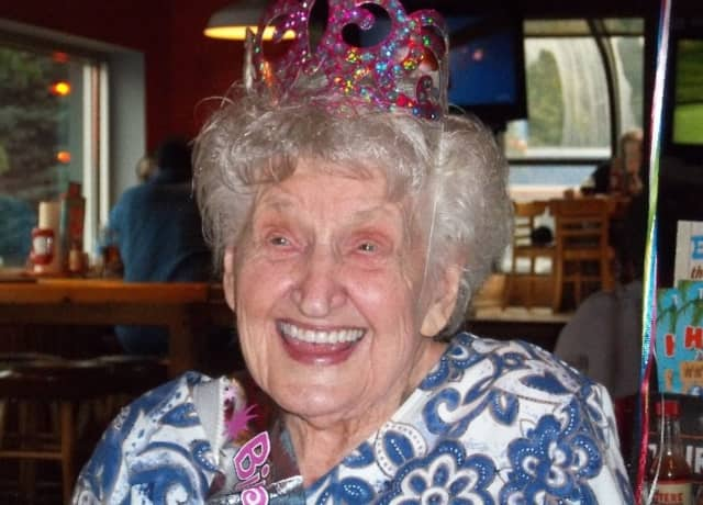 """Centenarian Mary Fabian """"never wanted to say anything (mean) about anyone."""""""