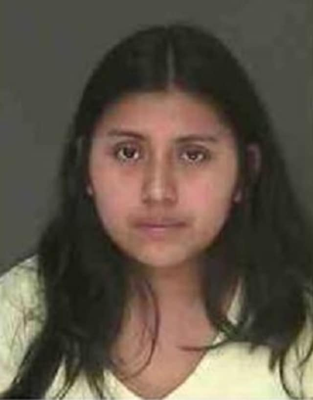 Rachel Matias, 29, of Spring Valley, is being sought by Clarkstown police on charges of larceny and possession of stolen property.