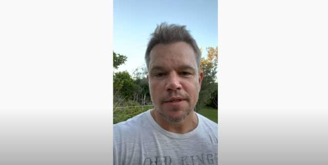 Matt Damon has endorsed Bedford Town Justice candidate Clark Petschek.